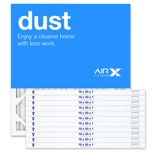 18x20x1 AIRx DUST Air Filter - MERV 8