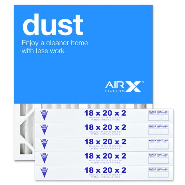 18x20x2 AIRx DUST Air Filter - MERV 8