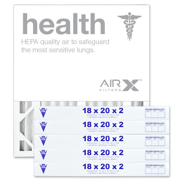 18x20x2 AIRx HEALTH Air Filter - MERV 13