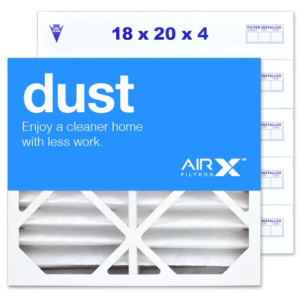 18x20x4 AIRx DUST Air Filter - MERV 8