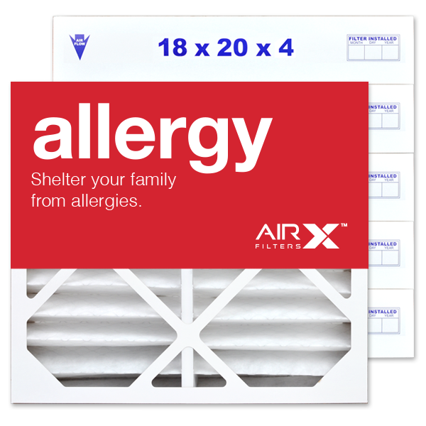 18x20x4 AIRx ALLERGY Air Filter - MERV 11