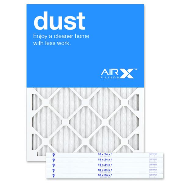 18x24x1 AIRx DUST Air Filter - MERV 8
