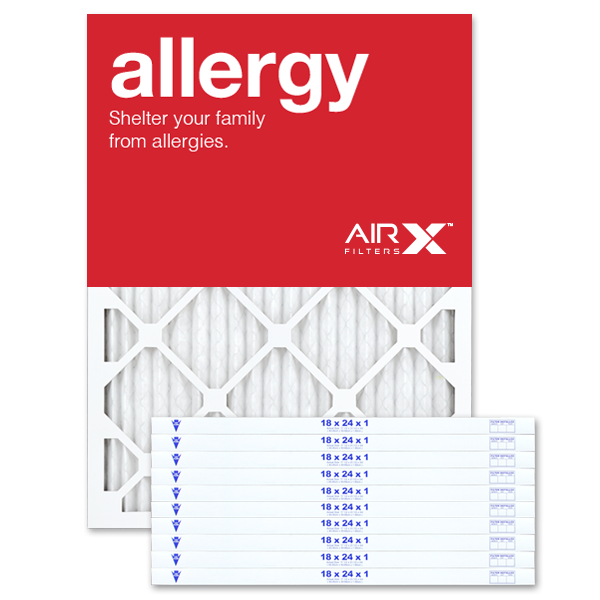 18x24x1 AIRx ALLERGY Air Filter - MERV 11