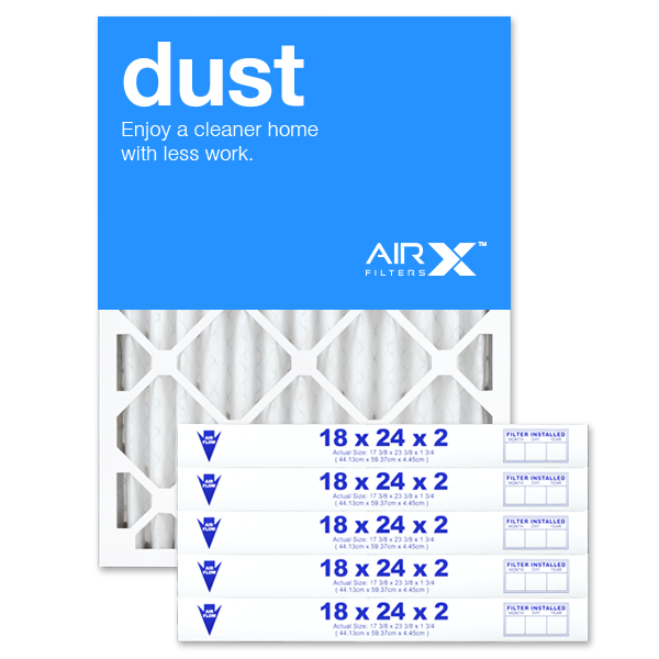18x24x2 AIRx DUST Air Filter - MERV 8