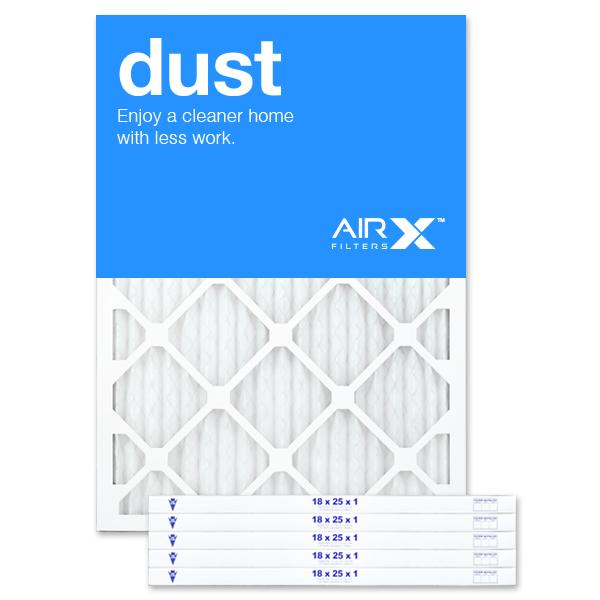 18x25x1 AIRx DUST Air Filter - MERV 8