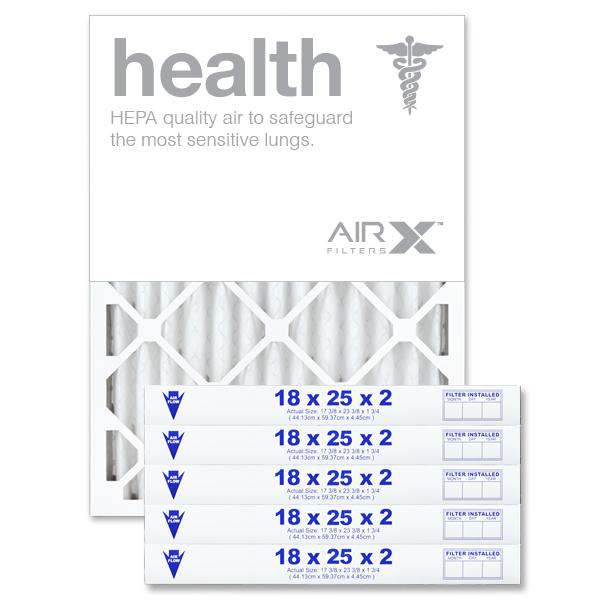 18x25x2 AIRx HEALTH Air Filter - MERV 13