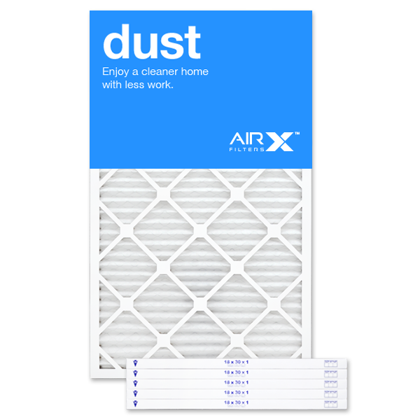 18x30x1 AIRx DUST Air Filter - MERV 8