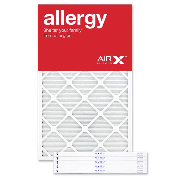18x30x1 AIRx ALLERGY Air Filter - MERV 11