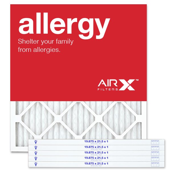 19.75x21.5x1 AIRx DUST Air Filter - MERV 8