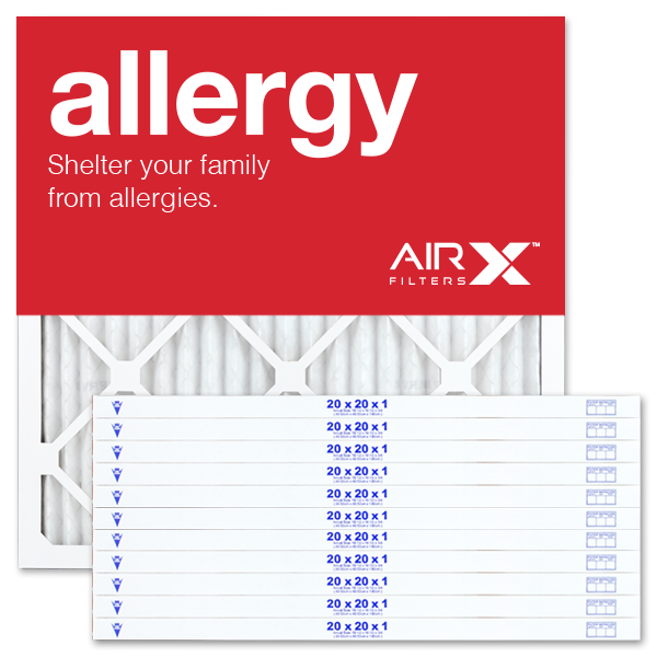 20x20x1 AIRx ALLERGY Air Filter - MERV 11