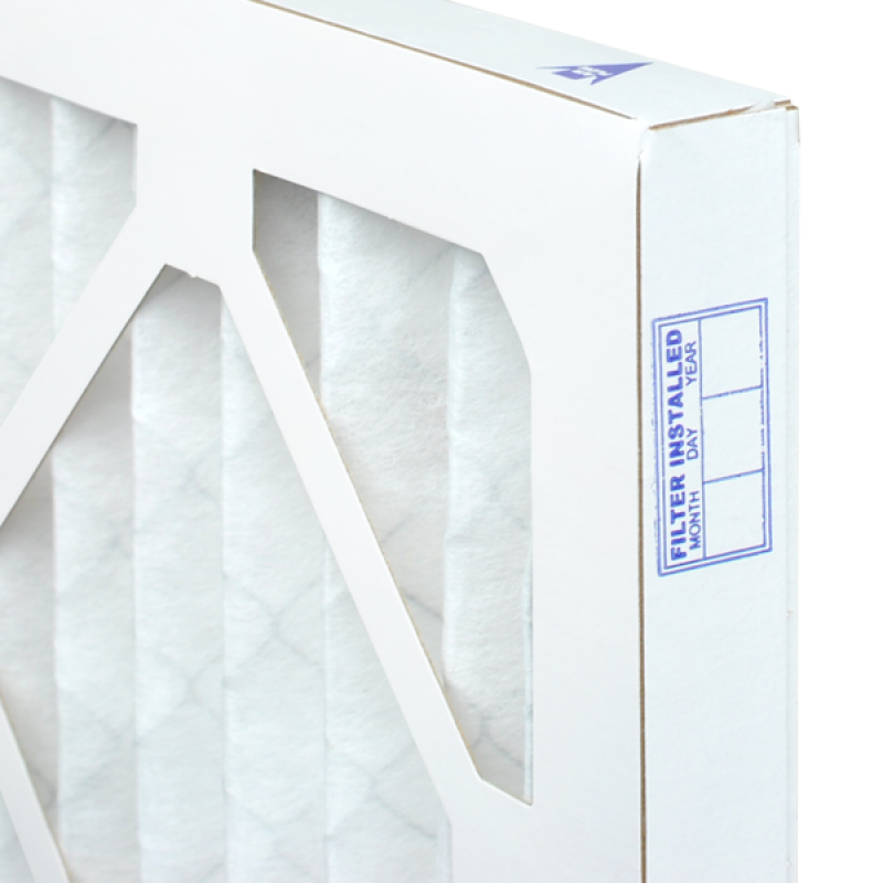 20x20x1 furnace air filter traps particles like pollen, dust, dirt and mold