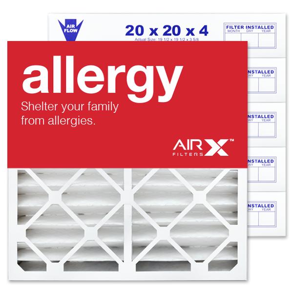 20x20x4 AIRx DUST Air Filter - MERV 8