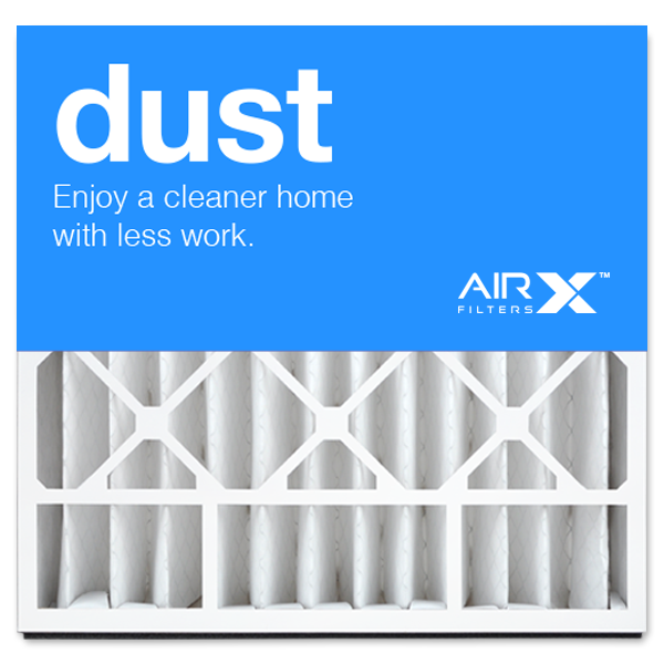 20x20x5 AIRx DUST Skuttle 000-0448-003 Replacement Air Filter - MERV 8