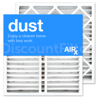Replacement For Honeywell Filter-20x20-MERV 8, 2-Pack- Dust Reducing