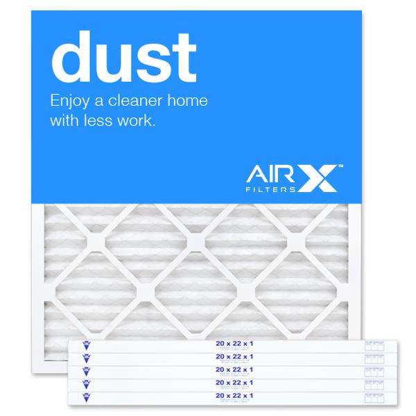 20x22x1 AIRx DUST Air Filter - MERV 8