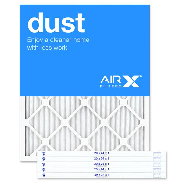 20x24x1 AIRx DUST Air Filter - MERV 8
