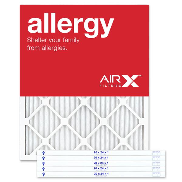 20x24x1 AIRx ALLERGY Air Filter - MERV 11