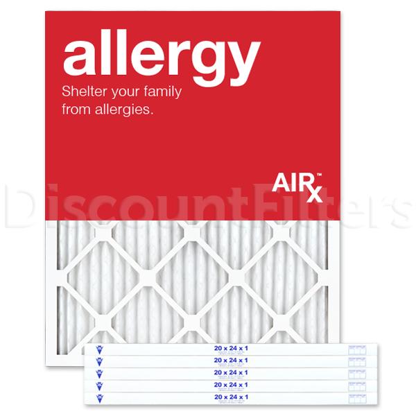 "20"" X 24"" X 1"" MERV 11 Pleated Filter- Allergy Reduction"
