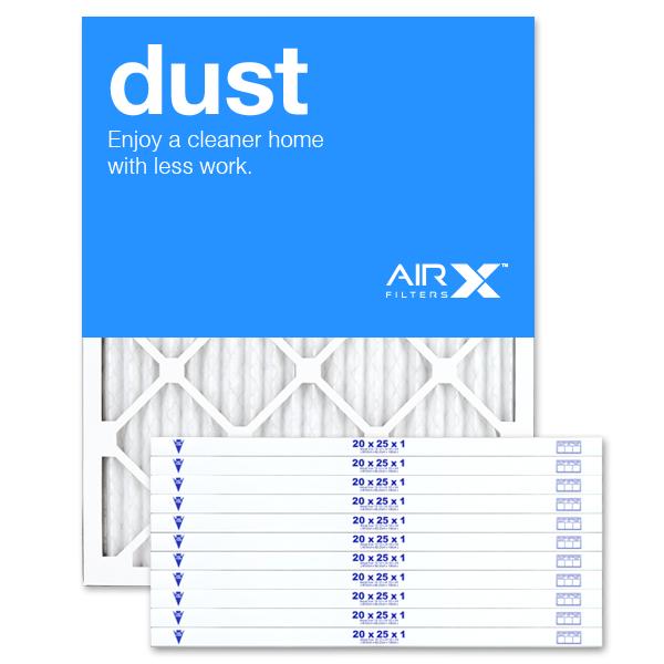 20x25x1 AIRx DUST Air Filter - MERV 8