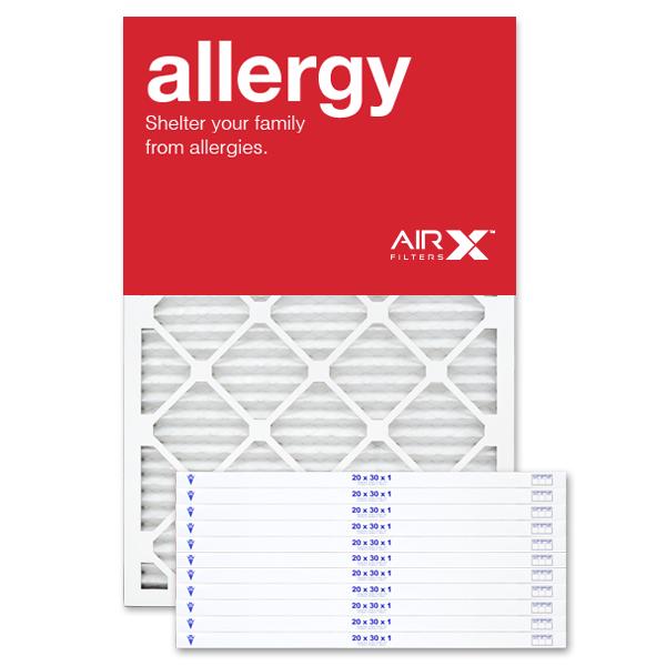 20x30x1 AIRx ALLERGY Air Filter - MERV 11