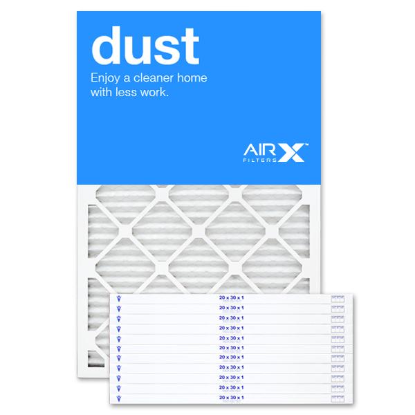 20x30x1 AIRx DUST Air Filter - MERV 8