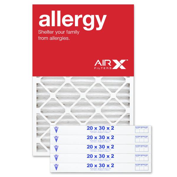 20x30x2 AIRx ALLERGY Air Filter - MERV 11