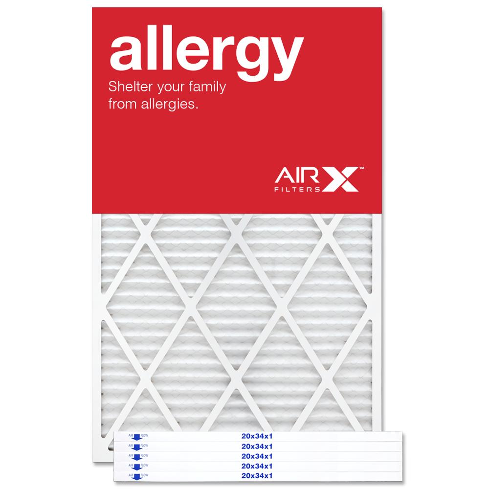 20x34x1 AIRx ALLERGY Air Filter - MERV 11