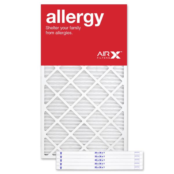 20x36x1 AIRx ALLERGY Air Filter - MERV 11