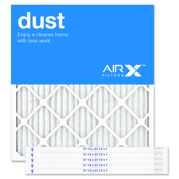 21.5x23.5x1 AIRx DUST Air Filter - MERV 8
