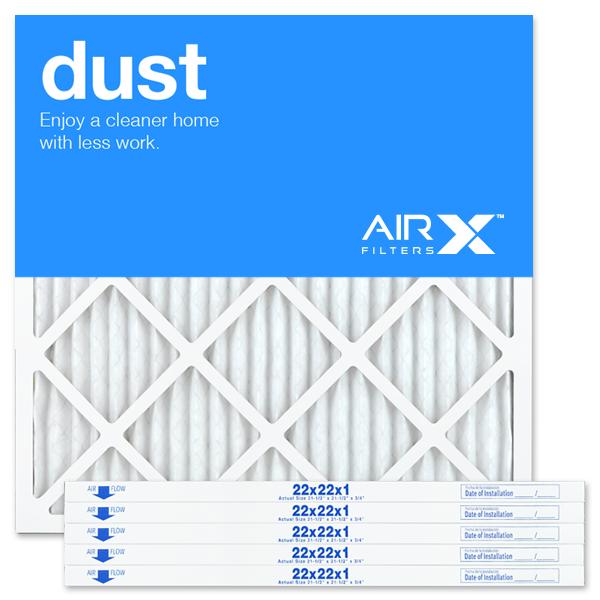 22x22x1 AIRx DUST Air Filter - MERV 8