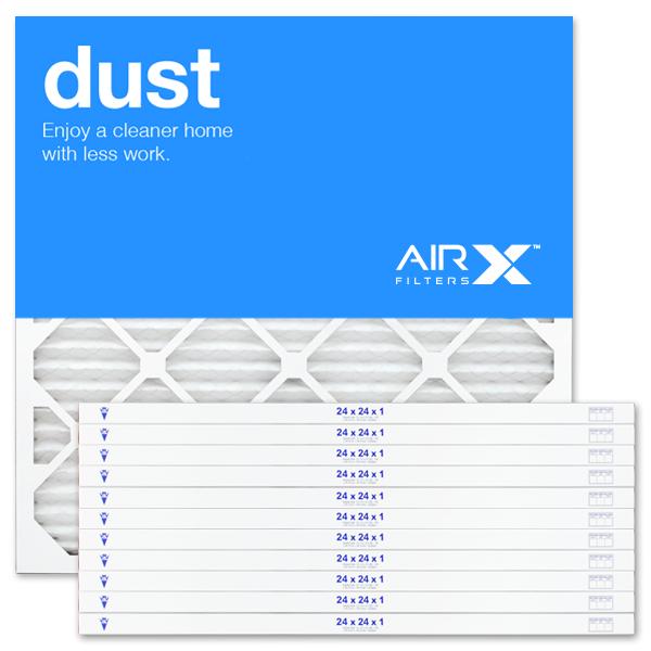24x24x1 AIRx DUST Air Filter - MERV 8