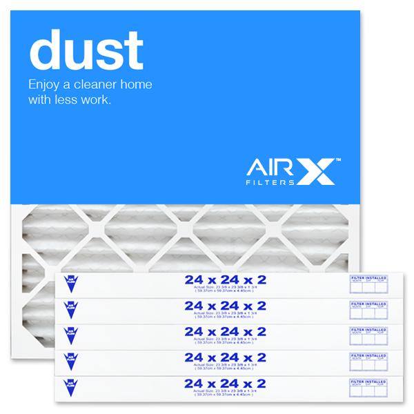24x24x2 AIRx DUST Air Filter - MERV 8