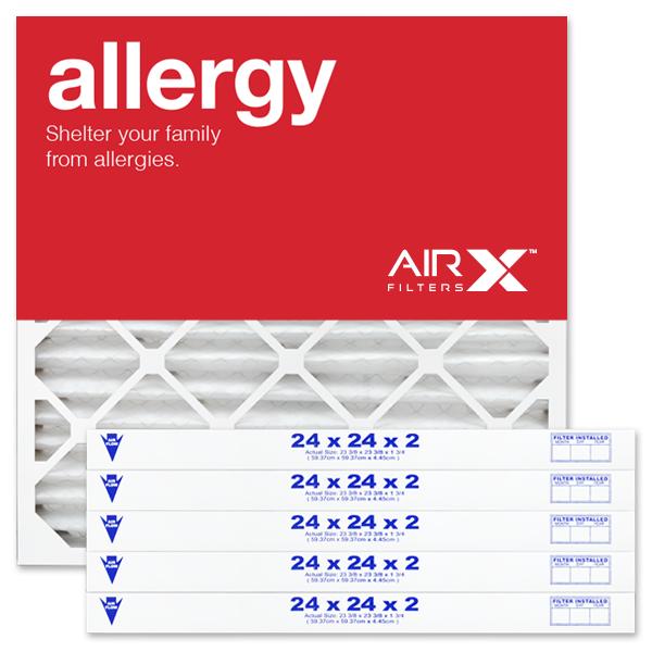 24x24x2 AIRx ALLERGY Air Filter - MERV 11