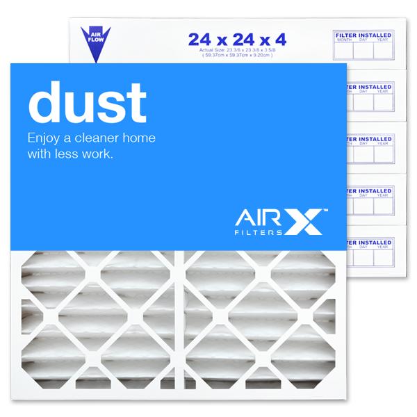 24x24x4 AIRx DUST Air Filter - MERV 8