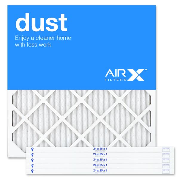 24x25x1 AIRx DUST Air Filter - MERV 8