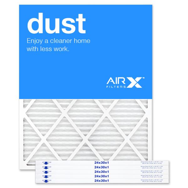 24x30x1 AIRx DUST Air Filter - MERV 8