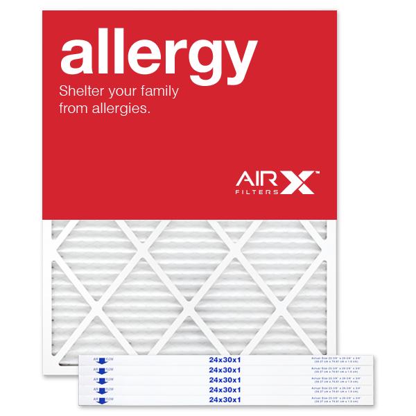 24x30x1 AIRx ALLERGY Air Filter - MERV 11
