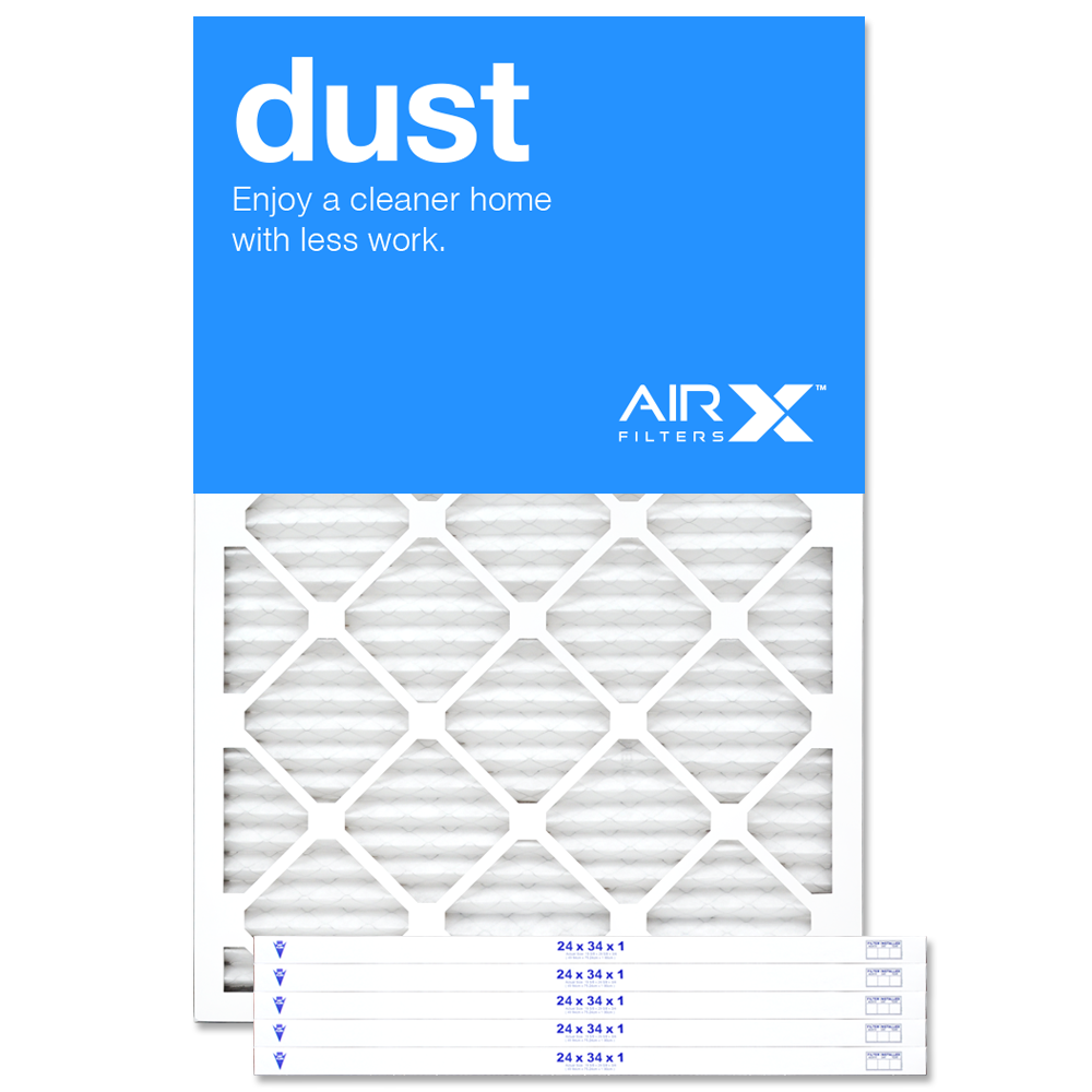 24x34x1 AIRx DUST Air Filter - MERV 8