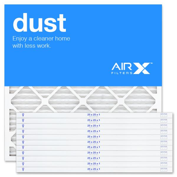 25x25x1 AIRx DUST Air Filter - MERV 8