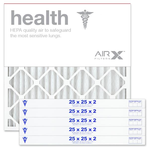 25x25x2 AIRx HEALTH Air Filter - MERV 13