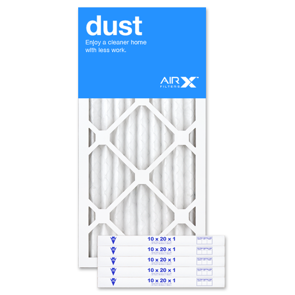 10x20x1 AIRx DUST Air Filter - MERV 8