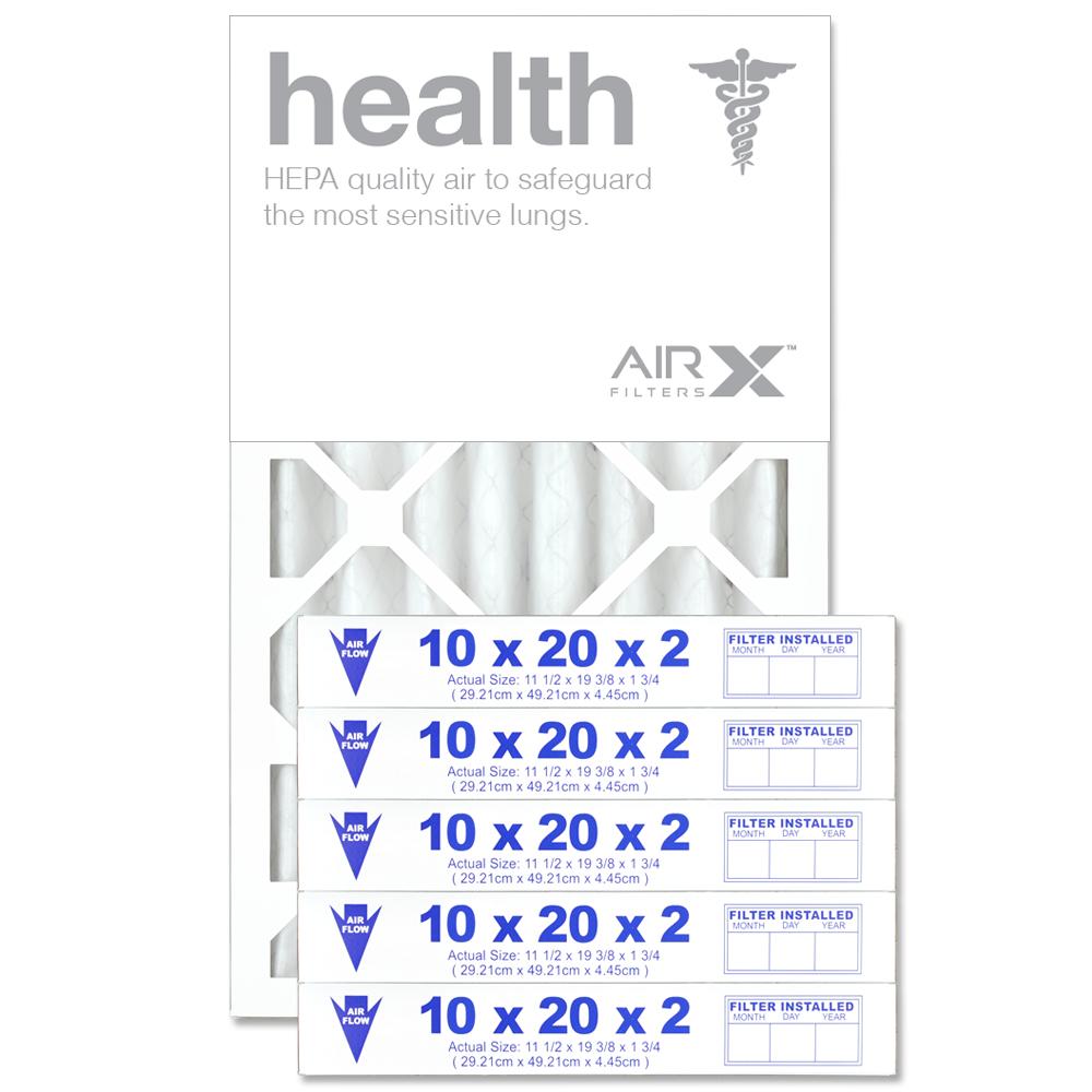 10x20x2 AIRx HEALTH Air Filter - MERV 13