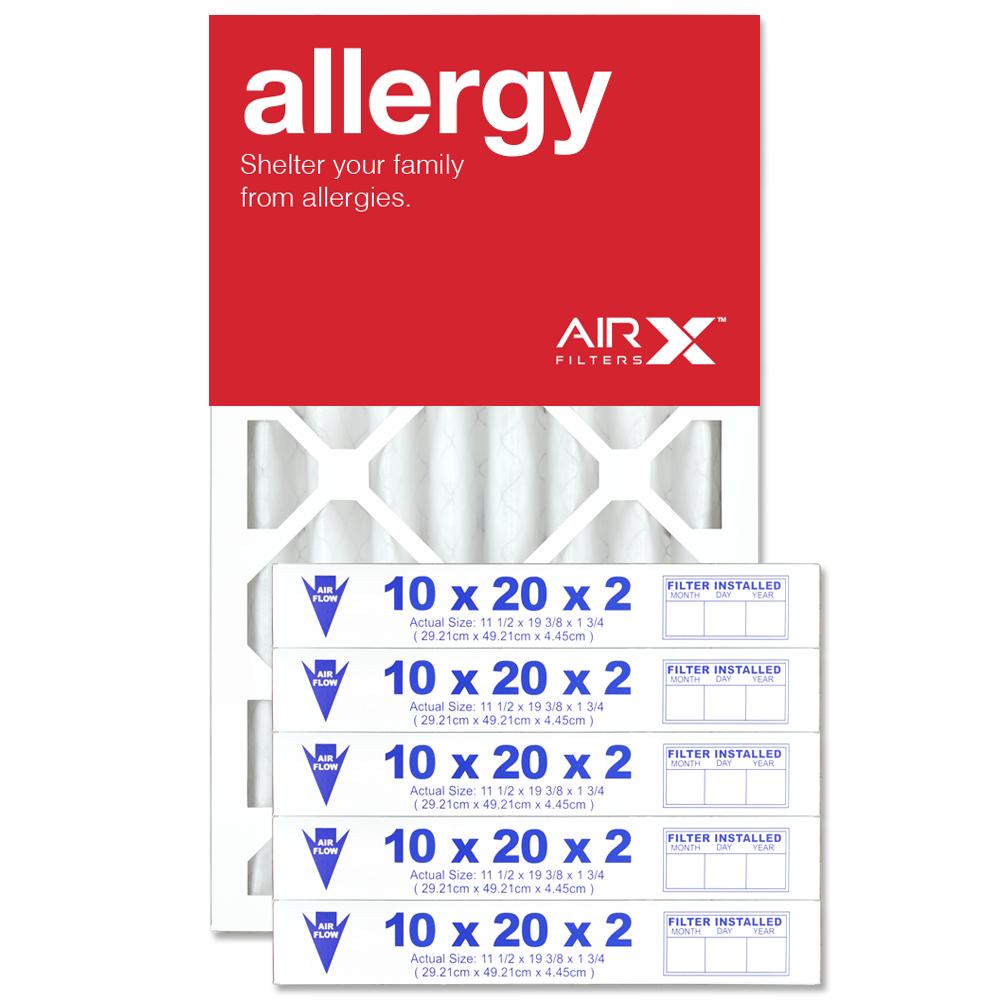 10x20x2 AIRx ALLERGY Air Filter - MERV 11