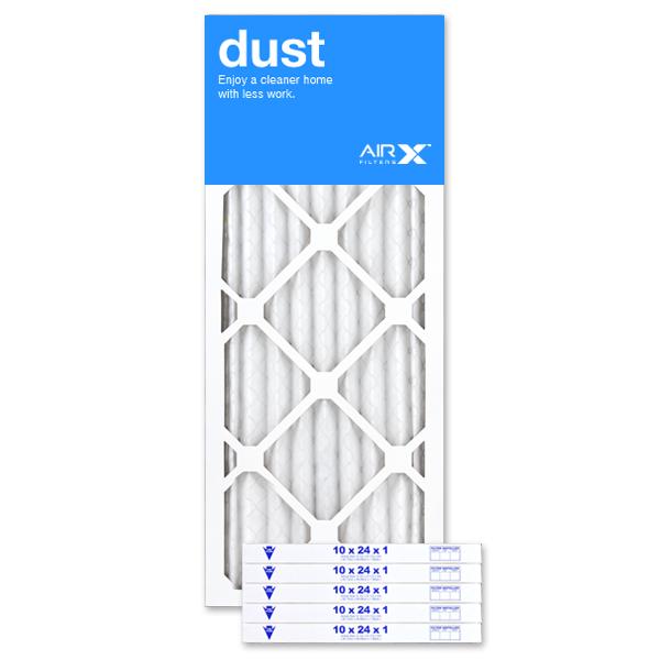 10x24x1 AIRx DUST Air Filter - MERV 8