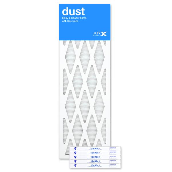 10x30x1 AIRx DUST Air Filter - MERV 8