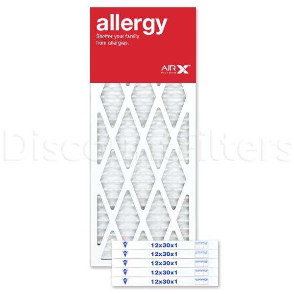12x30x1 AIRx ALLERGY Air Filter - MERV 11