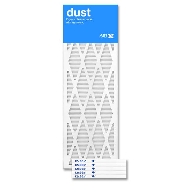 12x36x1 AIRx DUST Air Filter - MERV 8