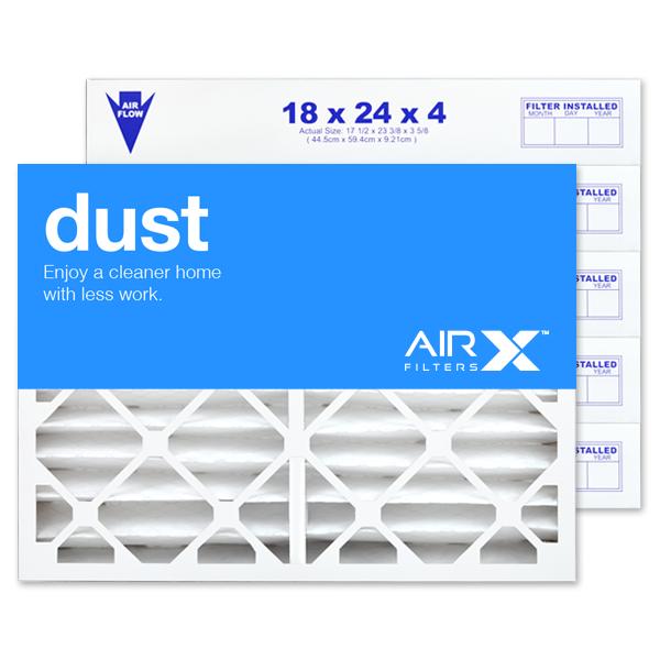 18x24x4 AIRx DUST Air Filter - MERV 8