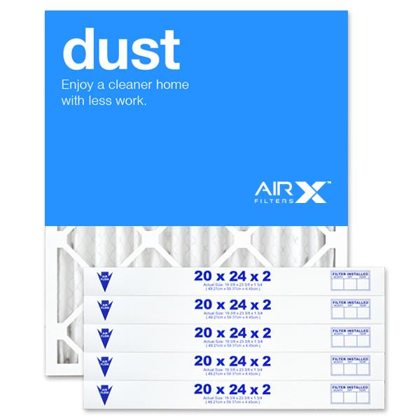 20x24x2 AIRx DUST Air Filter - MERV 8