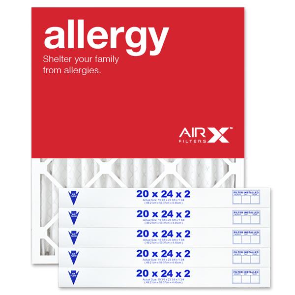 20x24x2 AIRx ALLERGY Air Filter - MERV 11